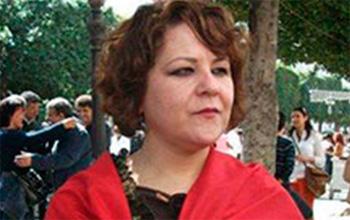 Raja <b>Ben Slama</b> à Moncef Marzouki : Collabo, demande l'asile au Qatar ! - BN11007Raja-Ben-Slama-0713