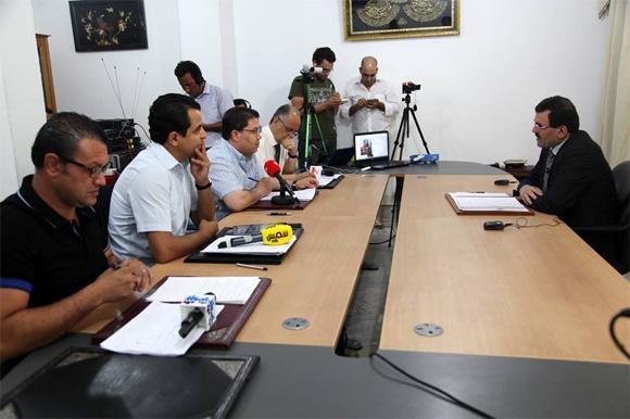 Laârayedh fait point situation Tunisie BN11111laarayedh-rad