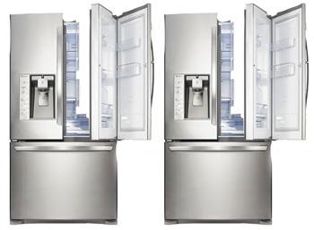 D co frigo americain samsung rsa1uhmg 59 caen frigo for Refrigerateur beko noir miroir