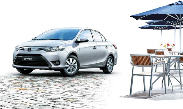tunisie la nouvelle toyota yaris sedan disponible chez bsb partir de dinars ttc vid o. Black Bedroom Furniture Sets. Home Design Ideas