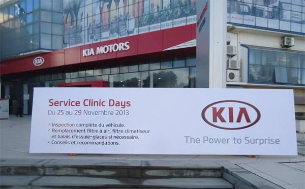 Kia Motors Lance Ses Service Clinic Days En Tunisie