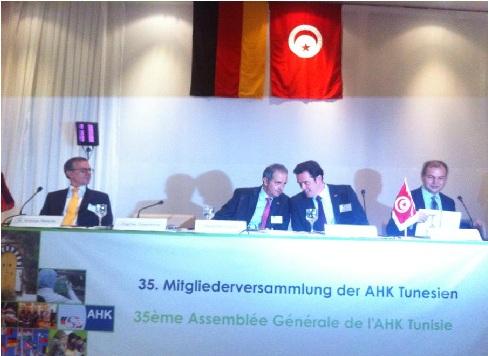 Allemagne tunisie 100 millions d for Chambre de commerce en tunisie