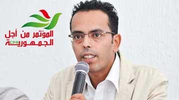 Haythem <b>Ben Belgacem</b> : Marzouki est désormais plus grand que le CPR (vidéo) - BN19483Haythem-Ben-Belgacem-1214