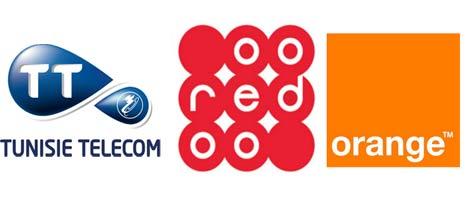 Carte Telecom Tunisie Tunisie Telecom Ooredoo et