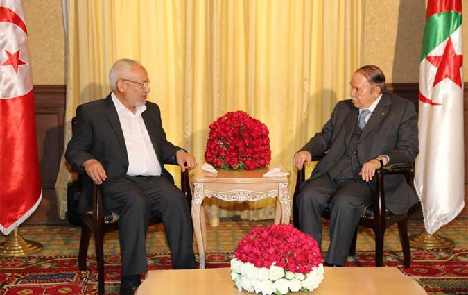 Abdelaziz Bouteflika a reçu le président du mouvement tunisien Ennahdha Rached Ghannouchi