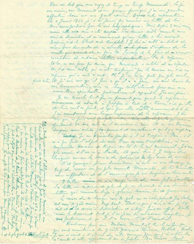Des lettres de Bourguiba retrouvées dans un appartement parisien BN23149lettre-bourguiba2