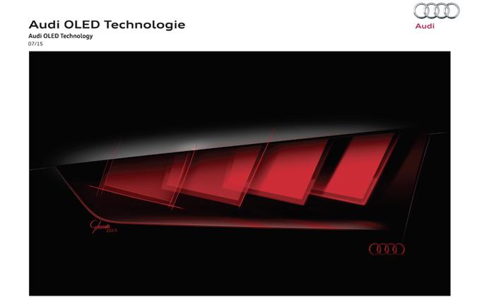 Audi pr sente la derni re technologie d 39 clairage au salon for Salon de la technologie