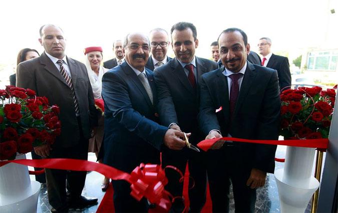 inauguration des nouveaux bureaux d emirates airlines tunis journal. Black Bedroom Furniture Sets. Home Design Ideas