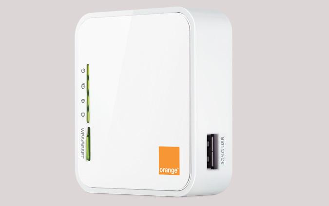 partager votre connexion avec le routeur 4g d 39 orange. Black Bedroom Furniture Sets. Home Design Ideas