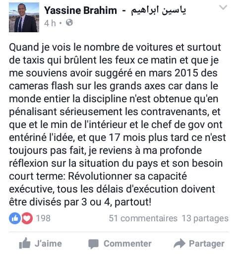 yassine brahim s 39 insurge contre les infractions au code de la route. Black Bedroom Furniture Sets. Home Design Ideas