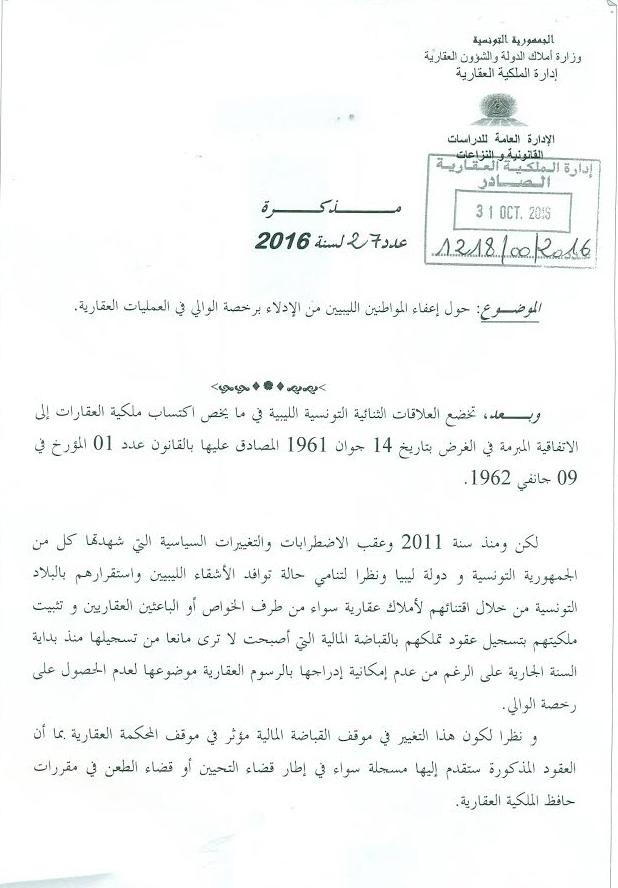 les libyens auront d sormais le droit d 39 acheter des biens immobiliers sans autorisation. Black Bedroom Furniture Sets. Home Design Ideas