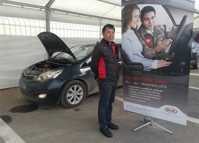 Kia Motors Tient Ses Service Clinic Days Au Kram