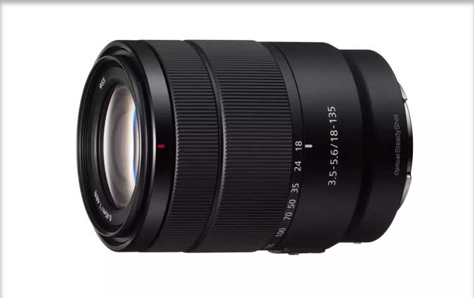 Sony son nouvel objectif zoom APS-C 18-135 mm F3.5-5.6