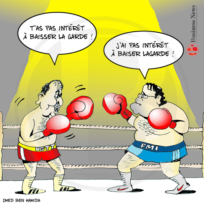 Tunisie - Caricature 21 Avril 2018