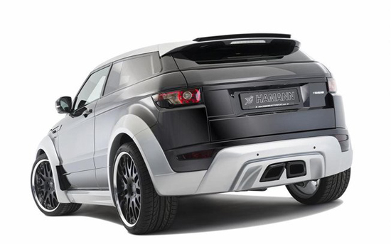 range rover evoque revu par le tuneur hamann. Black Bedroom Furniture Sets. Home Design Ideas