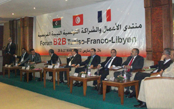 Le forum tuniso franco libyen pour for Chambre de commerce franco tunisienne
