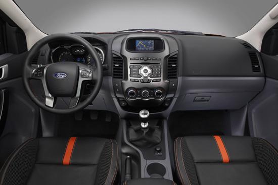 Nous avons essay le nouveau ranger le pick up 4x4 by ford for Interieur ford ranger