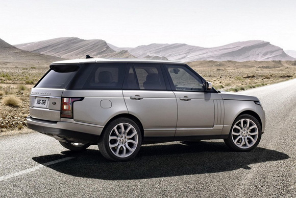 land rover l ve le voile sur son range rover 4. Black Bedroom Furniture Sets. Home Design Ideas