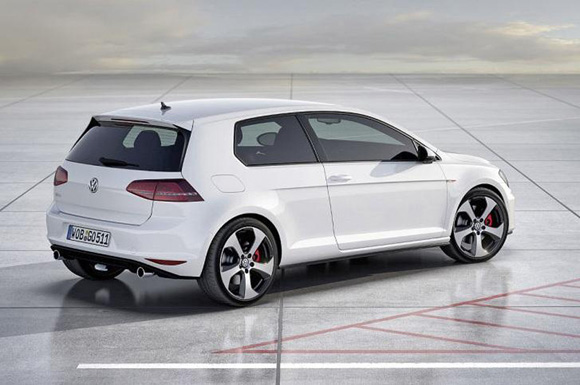 golf 7 gti concept le nouveau bolide de volkswagen. Black Bedroom Furniture Sets. Home Design Ideas