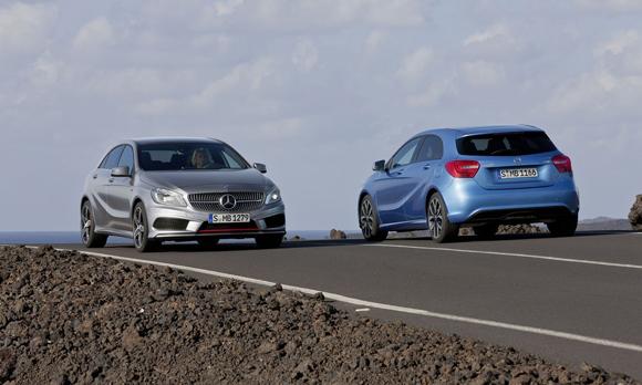"""La Mercedes Classe A, la """"plus belle voiture de l'année 2012""""  BN9161mercedes-classe-a-0213"""