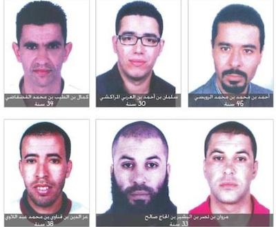 Le ministère de l'Intérieur publie les photos des suspects dans l'assassinat de Chokri Belaïd  BN9852coupablesbelaid
