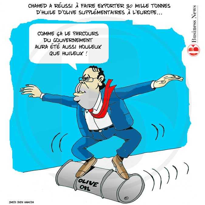 TUNISIE - CARICATURE 26 AVRIL 2018