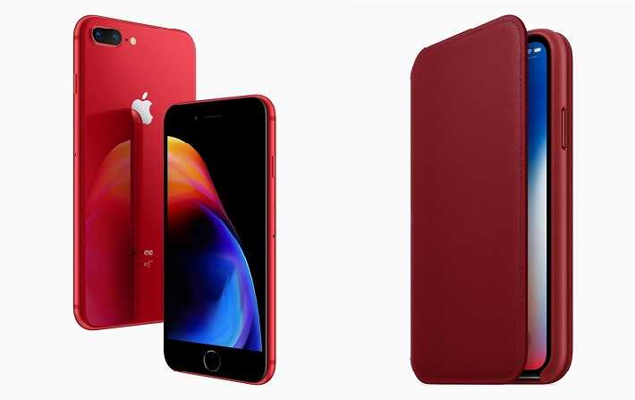 Les iPhone 8 et iPhone 8 Plus d'Apple désormais disponibles en (Product)Red Special Edition