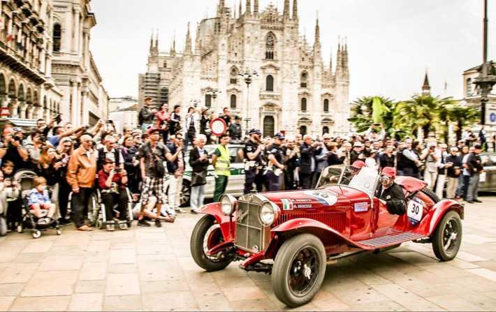 Mille Miglia 2018   Alfa Romeo remporte les trois premières places ... 73f6ad96a66e
