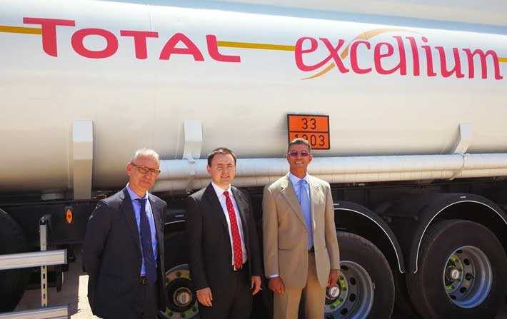 Total lance la commercialisation de TOTAL EXCELLIUM en Tunisie