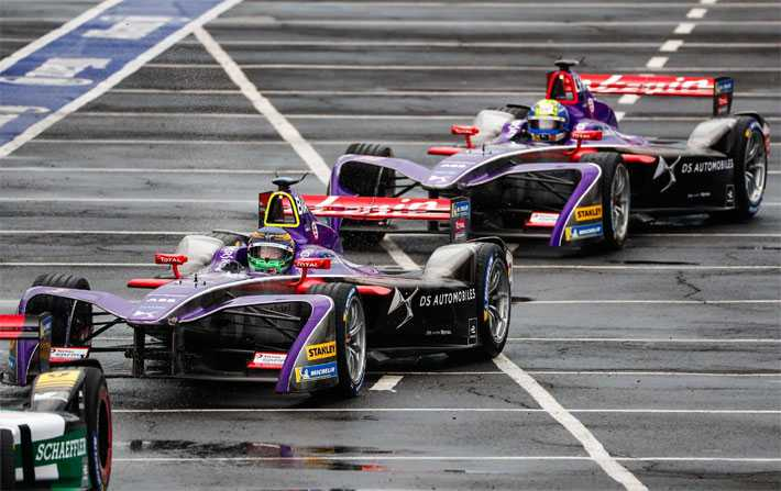 DS Virgin Racing sur la 3ème marche du podium de Formula E