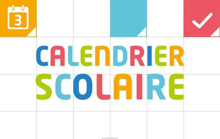 Calendrier Annee Scolaire 201918.Tunisie Le Nouveau Calendrier Scolaire