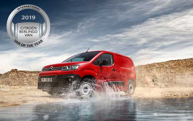 Le nouveau Citroën Berlingo Van remporte le titre de «International Van Of The Year 2019»