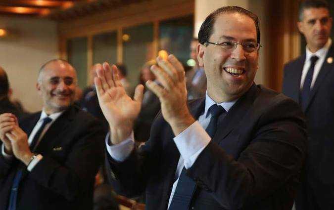 Youssef Chahed félicite l'équipe nationale