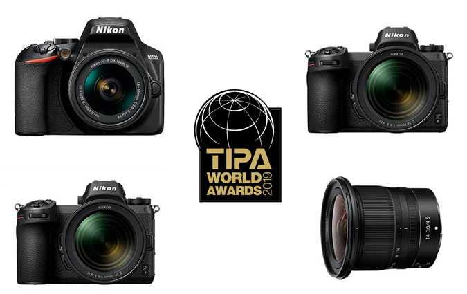 Tipa World Awards 2019 : Nikon remporte quatre prix