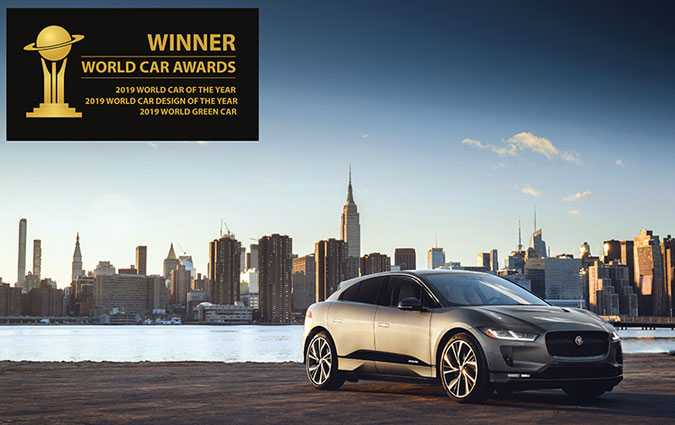 World Car Awards : Triplé inédit pour la Jaguar I-Pace
