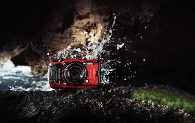 Tough TG-6, le nouvel appareil photo compact et robuste d'Olympus