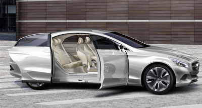 mercedes f800 style concept le futur au bout des doigts. Black Bedroom Furniture Sets. Home Design Ideas