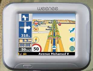 carte gps tunisie pour voiture