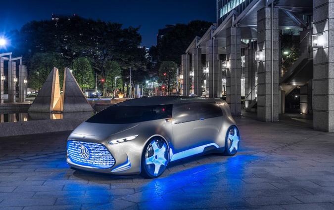 Vision Tokyo La Voiture Du Futur Selon Mercedes Benz
