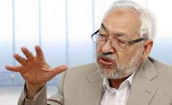 Rached Ghannouchi à Washington, le 29 mai