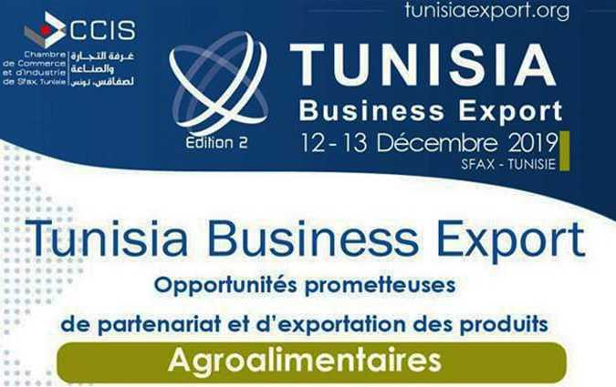 La CCIS organise la 2ème édition du Forum de l'export « Tunisia Business Export »