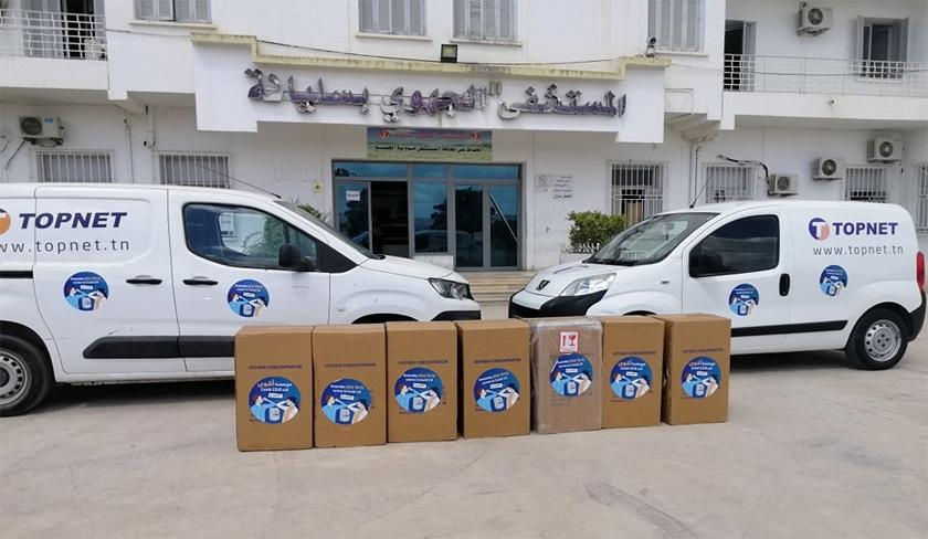 Topnet se mobilise en distribuant des concentrateurs d'oxygène pour les hôpitaux publics du Nord-Ouest